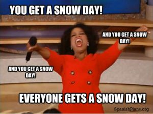 oprah gives a snow day