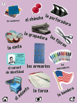 utiles escolares vocabulario