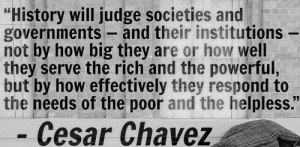 Cesar Chaves quote