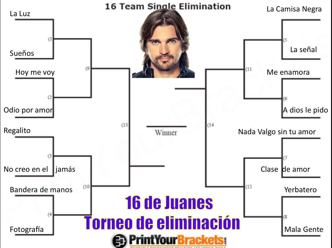 Juanes Sweet 16cket
