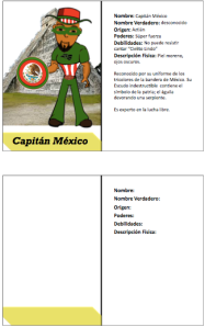 Captain Mexico Trading Card