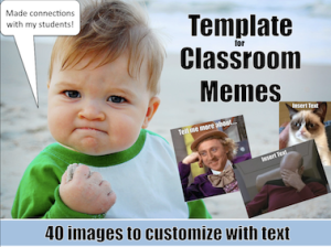 Customizable Memes for Classroom