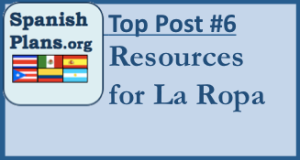 La Ropa Spanish Lesson