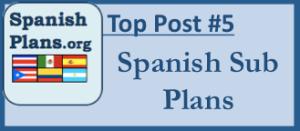 Emergency Spanish Sub Plans