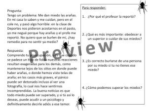 Miedos Fobias Preview