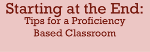 Proficiency Based Program