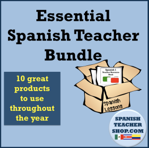 Essential Spanish Teacher Bundle