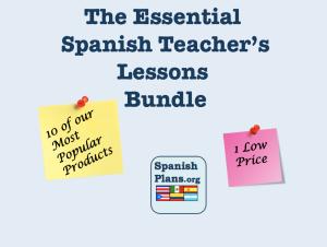 Spanish Teacher Lessons