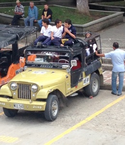 Colombian School bus