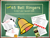 Bell Work Activities for Spanish