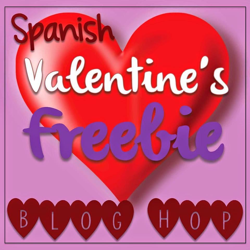 Dia de San Valentin Blog Hop – Valentines Cards in Spanish