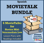 Spanish MovieTalk Lesson Plans