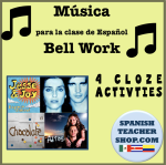 Spanish Music Bell Work