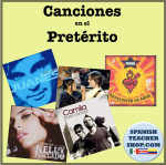 Spanish songs preterite