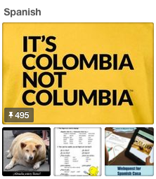 Spanish Teacher Pinterest Board