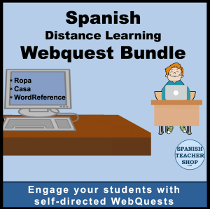 Spanish WebQuests bundle