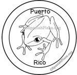 Puerto Rico Stamp Sello de Puerto Rico