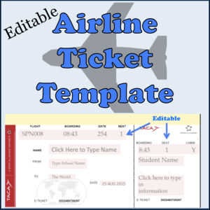 Collection of resources and ideas for for Editable ticket template free
