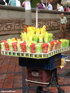 fresh fruit cart