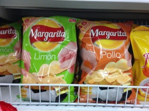 Margarita brand potato chips
