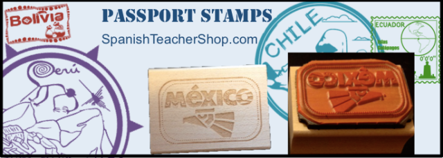 Stamps for Spanish Teacher