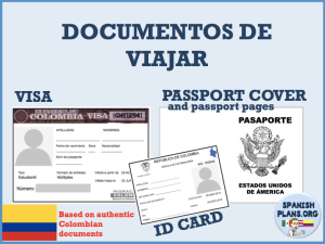Spanish Passport Template