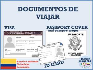 Spanish Passport Template