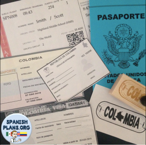 Spanish Travel Documents