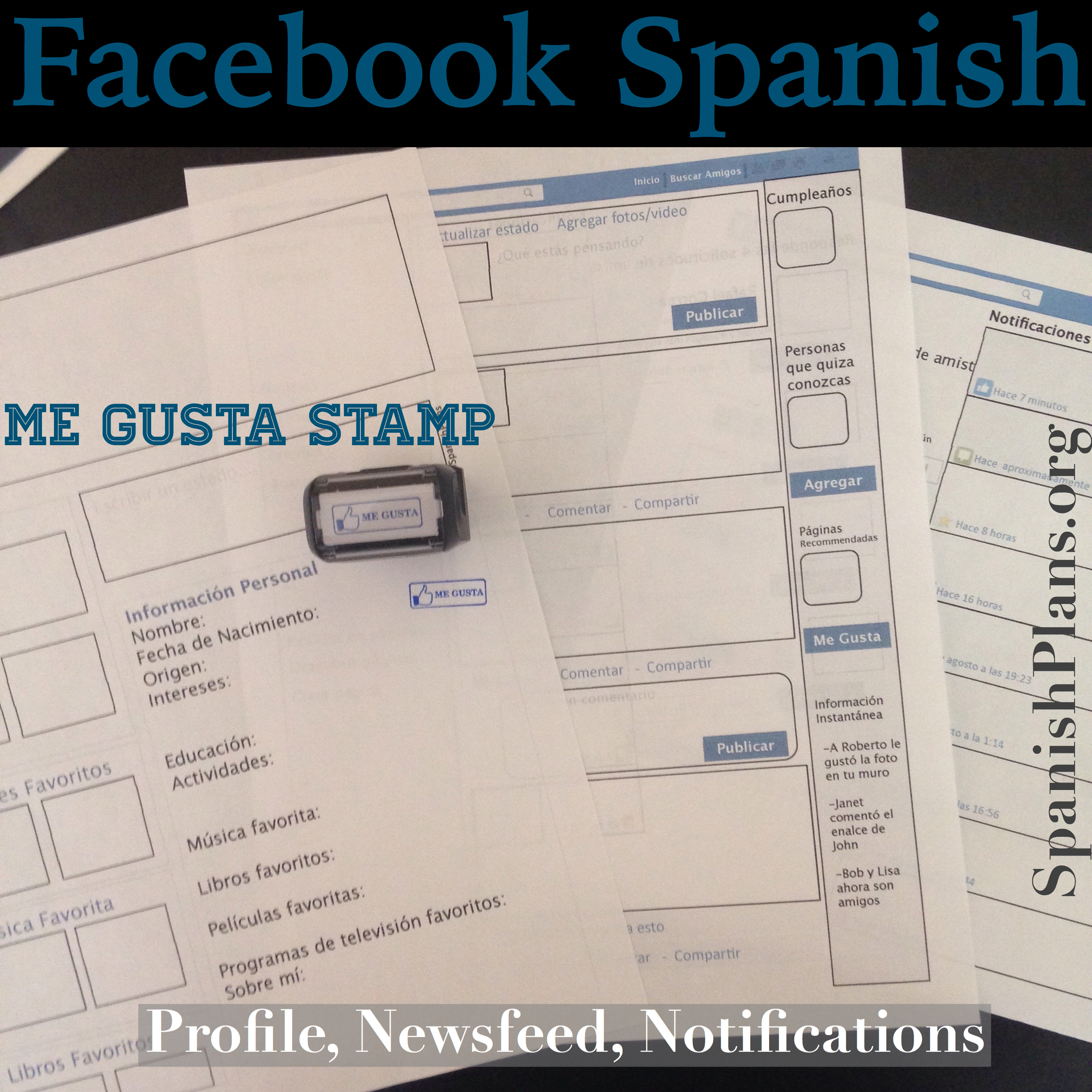 facebook templates for projects - spanish facebook template bing images