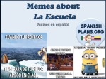 School Themed Memes in Spanish