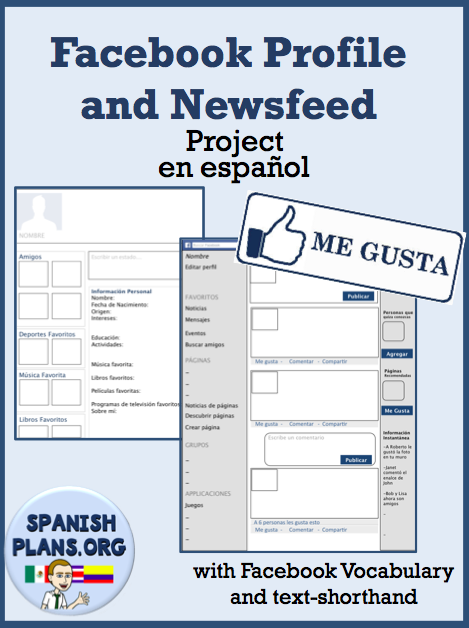 Facebook in Spanish | SpanishPlans.org