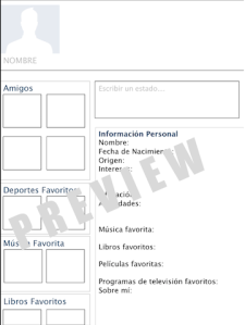 Along with the 3 page template (Profile, Newsfeed, Notifications ...