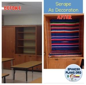Serape in Spanish Classroom