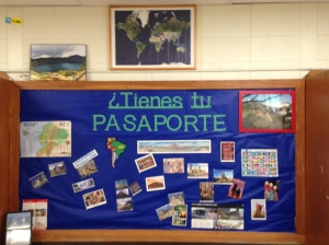 Tienes tu pasaporte Bulletin Board