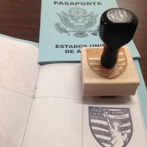 USA Spanish Stamp