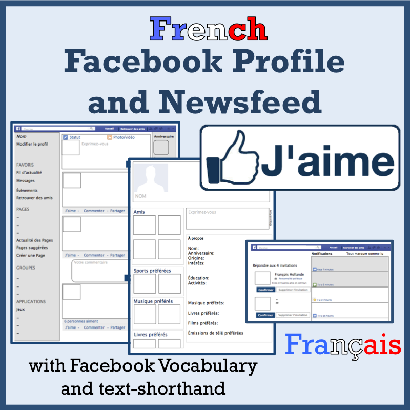 how to write in french on facebook