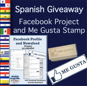 Spanish Facebook giveaway