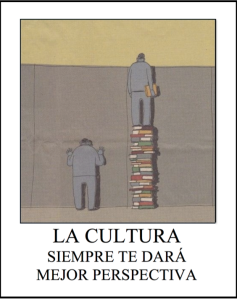 reading gives you perspective and culture
