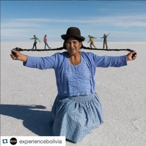 Uyuni Bolivia Perspective
