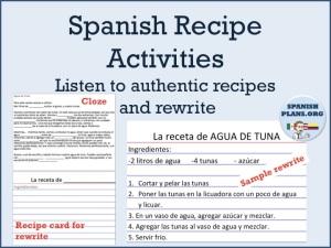Spanish Recipe AuthRes
