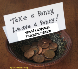 Take a Penny World Language Teachers