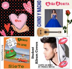 Spanish Album Cover Music Project