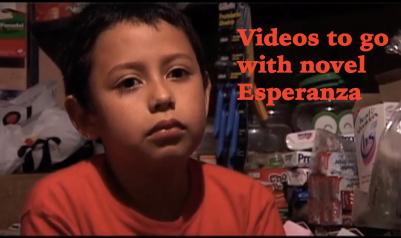 Video Clips for Esperanza Spanish novel