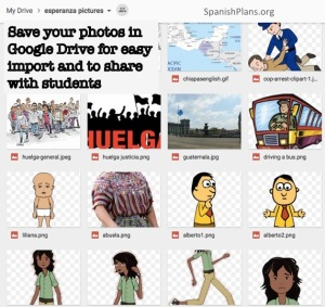 Esperanza Pictures in Google Drive