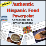 Comida del Dia Hispanic Food