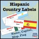 Hispanic Country Labels