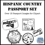 Passport Stamps Clipart