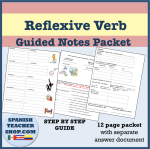 Reflexive Guided Notes Packet