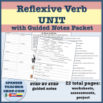 Reflexive Verb Unit
