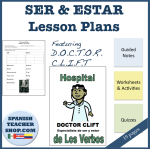 Ser and Estar Unit Lesson Plans